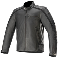 ALPINESTARS 2020 HOXTON V2 LEATHER JACKET BLACK