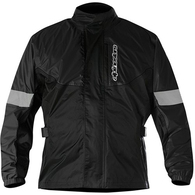 ALPINESTARS 2020 HURRICANE RAIN JACKET BLACK