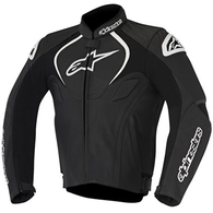ALPINESTARS 2020 JAWS LEATHER JACKET BLACK