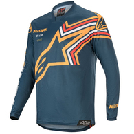 ALPINESTARS 2020 RACER BRAAP NAVY/ORANGE JERSEY & PANT COMBO