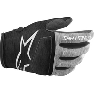 ALPINESTARS 2020 RACER GLOVES YOUTH BLACK/MELANGE GRAY/WHITE