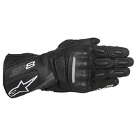 ALPINESTARS 2020 SP-8 V2 GLOVES BLACK/DARK GRAY