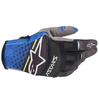 ALPINESTARS 2020 TECHSTAR GLOVES DARK BLUE/BLACK