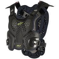 ALPINESTARS A-1 ROOST GUARD BLACK ANTHRACITE - ENGINEERED FOR BNS