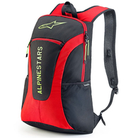 ALPINESTARS GFX BACKPACK BLACK RED HI VIS YELLOW
