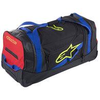 ALPINESTARS KOMODO TRAVEL BAG BLACK/BLUE/RED/YELLOW FLUORO
