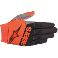 ALPINESTARS RACEFEND GLOVES ORANGE FLUORO BLACK