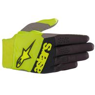 ALPINESTARS RACEFEND GLOVES YELLOW FLUORO BLACK