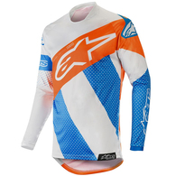 ALPINESTARS RACER TECH ATOMIC COOL GRAY MID BLUE ORANG