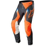 ALPINESTARS SUPERTECH PANTS ANTHRACITE/ORANGE FLUORO