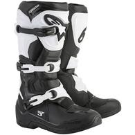 ALPINESTARS TECH-3 MX BOOTS BLACK WHITE