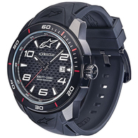 ALPINESTARS TECH WATCH 3H BLACK BLACK SILICONE