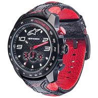 ALPINESTARS TECH WATCH RACE CHRONOGRAPH BLACK RED