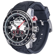 ALPINESTARS TECH WATCH SATINED STEEL CHRONOGRAPH PREMIUM