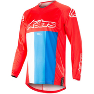 ALPINESTARS TECHSTAR VENOM RED WHITE BLUE