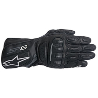 ALPINESTARS WOMENS STELLA SP-8 V2 GLOVES BLACK/DARK GRAY