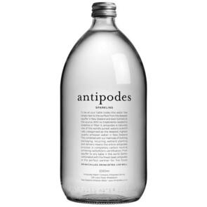 ANTIPODES SPARKLING WATER CASE OF 6X 1L BOTTLES