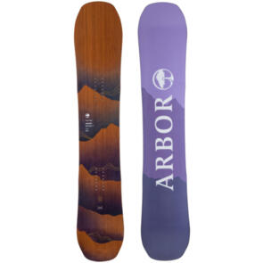 ARBOR 2022 WOMENS SWOON CAMBER SNOWBOARD