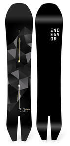 ENDEAVOR SNOWBOARDS 2021 ARCHETYPE MAGNUM PACKAGE