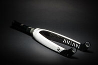 "AVIAN 20"""" VERSUS TAPERED 20MM DROPOUT CARBON FORK  -MATTE BLACK"