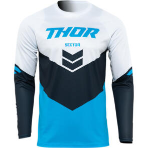 THOR 2022 SECTOR YOUTH CHEVRON JERSEY BLUE/MIDNIGHT