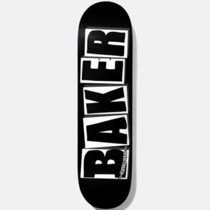 BAKER BRAND LOGO BLK/WHT DECK 8.0 BLACK