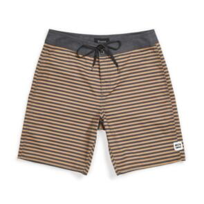 BRIXTON BARGE STRIPE TRUNK - BLACK/BRONZE STRIPE