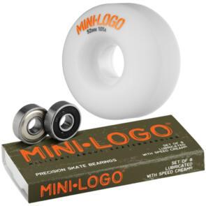 MINI LOGO WHEEL C-CUT 52MM X MINI LOGO BEARINGS COMBO