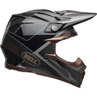 BELL MOTO-9 FLEX HELMET HOUND BLACK BRONZE