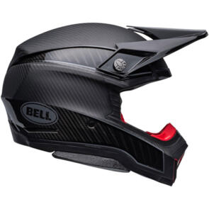 BELL MOTO HELMETS MOTO-10 LIMITED EDITION SPHERICAL MIPS RHYTHM MATTE/GLOSS BLACK/SILVER