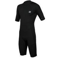 BILLABONG 2019 202 ABSOLUTE FL BZ SPRINGSUIT BLACK SILVER