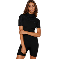 BILLABONG 2019 202 LADIES SYNERGY SPRINGSUIT BLACK PALMS