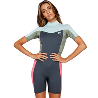 BILLABONG 2019 202 LADIES SYNERGY SPRINGSUIT SEAFOAM
