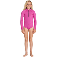 BILLABONG 2019 TEEN SALTY DAYZ 2MM LS SPRINGSUIT ORCHID HAZE