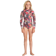 BILLABONG 2019 TEEN SALTY DAYZ 2MM SPRINGSUIT TROPICAL