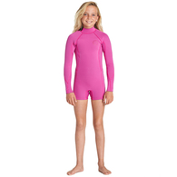 BILLABONG 2019 TEEN SPRING FEVER 2MM SPRINGSUIT ORCHID HAZE