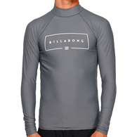 BILLABONG 2019 UNION RF LS RASH CHARCOAL