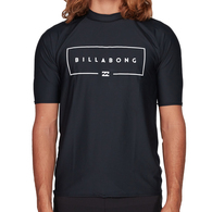 BILLABONG 2019 UNION RF SS RASH BLACK