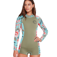 BILLABONG 2019 WOMENS LS SPRING FEVER 2MM SPRING ALOE