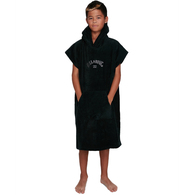 BILLABONG 2020 BOYS HOODED TOWEL BLACK