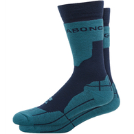 BILLABONG SNOW 2020 PARK COOLMAX SOCKS NAVY HEATHER