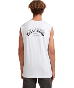 BILLABONG CORE ARCH MUSCLE WHITE