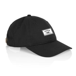 HYPER RIDE DAVIE SIX PANEL CAP BLACK