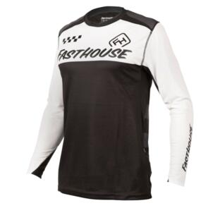FASTHOUSE 2021 ALLOY BLOCK LONG SLEEVE JERSEY WHITE/BLACK