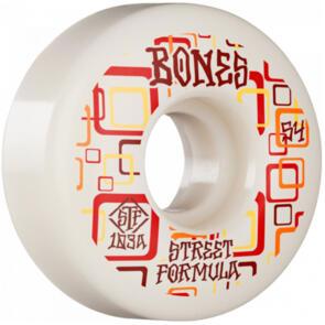 BONES RETROS STF 103A 54MM WHITE V3 SLIMS