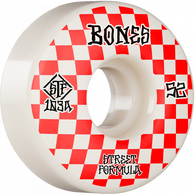 BONES STF V3 PATTERNS SLIM RED 52MM