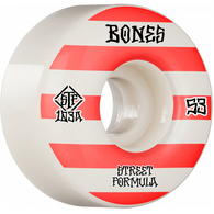 BONES STF V4 PATTERNS WIDES RED 53MM