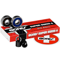 BONES BEARINGS SUPER SWISS 6 BALL BEARINGS