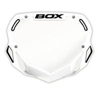 BOX PHASE 1 NUMBER PLATE WHT