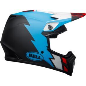 BELL MOTO HELMETS MX-9 MIPS STRIKE BLACK/BLUE/WHITE